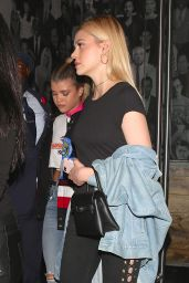 Nicola Peltz at Catch in West Hollywood 11/22/ 2016