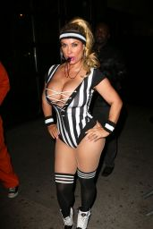Nicole Coco Austin at Heidi Klum 17th Annual Halloween Party in New York City 10/31/ 2016
