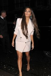 Nicole Scherzinger - Arrives for Dinner at 34 Restaurant in Mayfair 11/12/2016