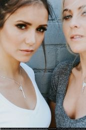Nina Dobrev - The Giving Keys Photoshoot with Julianne Hough 2016