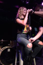 Olivia Holt - Performing at the Rise of a Phoenix Tour in Vienna, VA 11/21/ 2016
