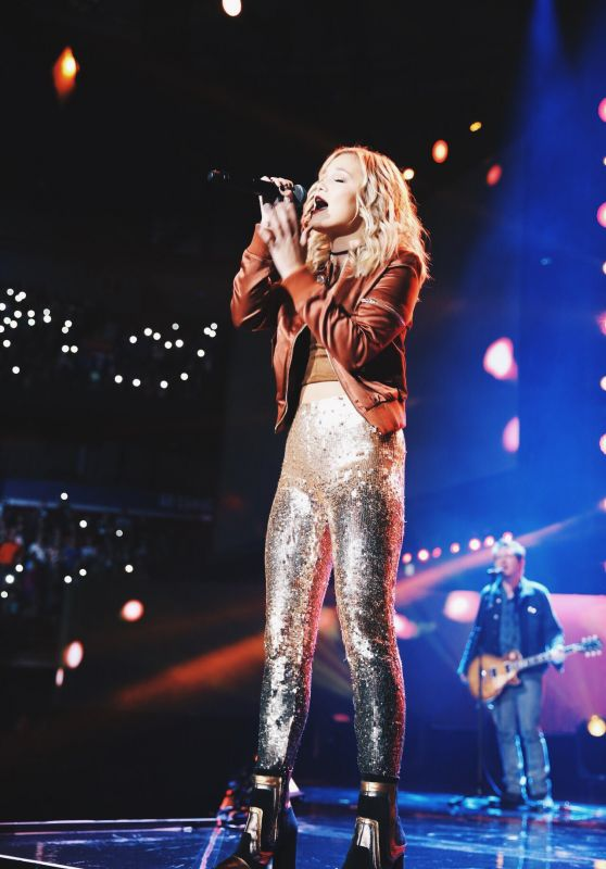 Olivia Holt - Performing at WE Day Vancouver 11/3/ 2016