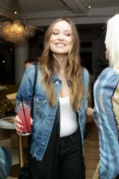 Olivia Wilde - Harper's Bazaar Daring Issue Party in New York City 11/1/ 2016
