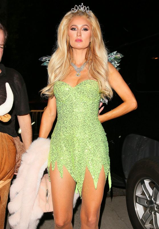 Paris Hilton – Halloween Party in Los Angeles 10/31/ 2016 Paris Hilton