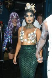 Perrie Edwards - Freedom Bar Halloween Party 11/01/ 2016