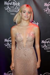 Pixie Lott - Hard Rock Cafe in Paris, November 2016