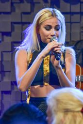 Pixie Lott Performs at the Hard Rock Cafe 25th Aniversary in Paris 11/16/ 2016