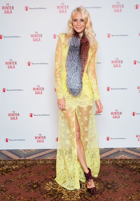 Poppy Delevingne - Save The Children Winter Gala at the Guildhall, London 11/22/ 2016