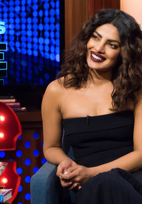 Priyanka Chopra - on Watch What Happens Live, November 2016