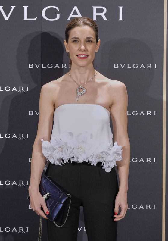 Raquel Sanchez Silva - Bulgari Cocktail Event in Madrid 11/28/ 2016