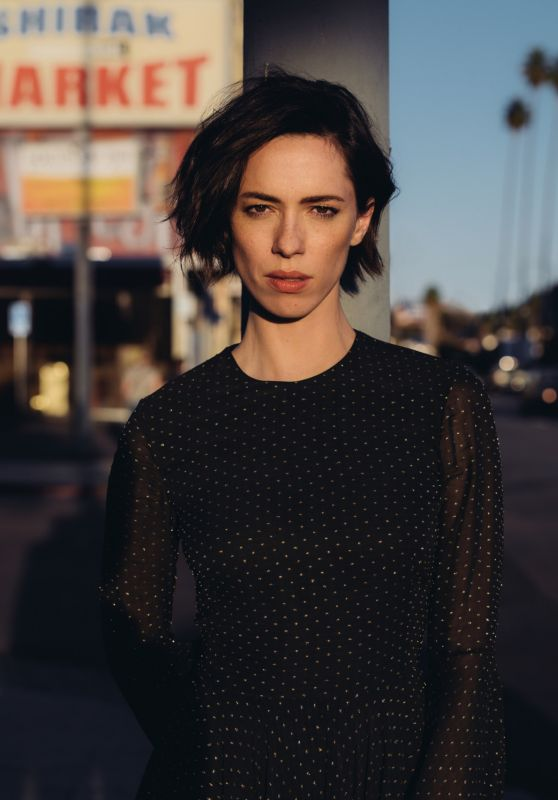 Rebecca Hall - Photoshoot for DuJour, Winter 2016