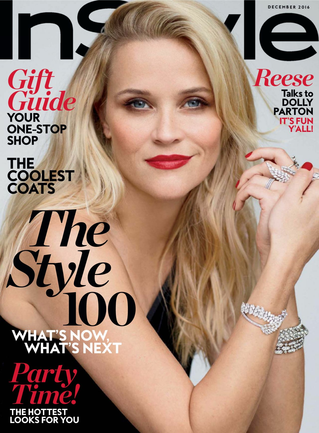 Instyle Magazine Us: December 2016 Issue