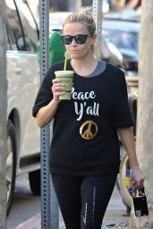 Reese Witherspoon - Leaving a Gym in Santa Monica 11/21/ 2016