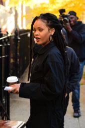 Rihanna - Oceans 8 Filmset in NYC 11/7/2016