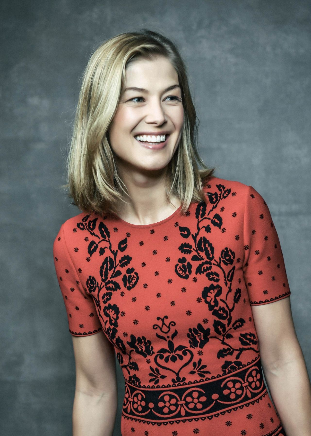 Rosamund Pike - London Film Festival. November 2016.