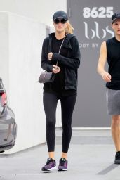 Rosie Huntington-Whiteley - Leaving a Gym in West Hollywood 11/26/ 2016