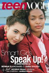 Rowan Blanchard & Yara Shahidi - Teen Vogue December 2016 Issue