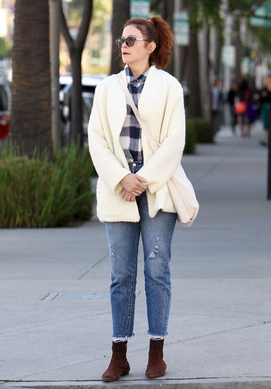 Ruth Wilson Casual Style - Beverly Hills 11/23/ 2016