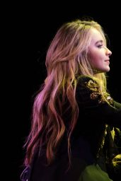 Sabrina Carpenter Performing at Highline Ballroom in New York City, November 2016