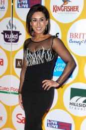 Saira Khan - British Curry Awards in London 11/28 /2016