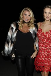 Sam Faiers Arrives at a Christmas Party in Essex 11/25/ 2016