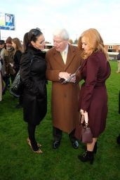 Sarah-Jane Mee & Kirsty Gallacher - The Hennessy Gold Cup At Newbury Racecourse, England 11/26/ 2016