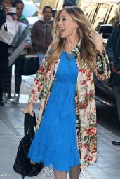 Sarah Jessica Parker Style - Out in New York City 11/28/ 2016