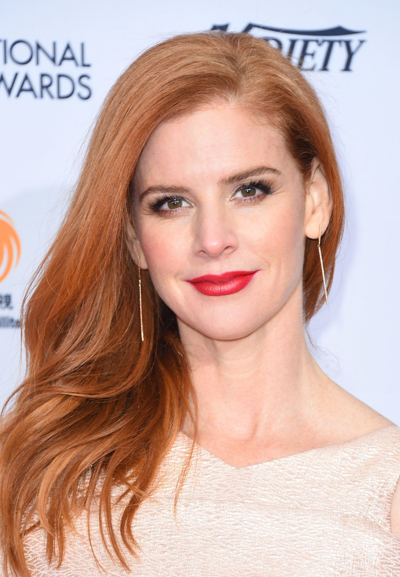 Sarah Rafferty International Emmy Awards 2016 In New