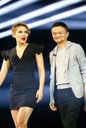 Scarlett Johansson - 11.11 Global Shopping Festival Gala in Shenzhen, China 11/11/ 2016