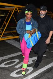 Serena Williams - Arriving at Heidi