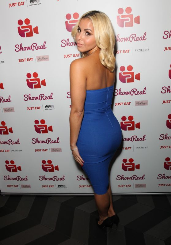 Shanie Ryan – The ShowReal Launch Party in London 11/2/ 2016