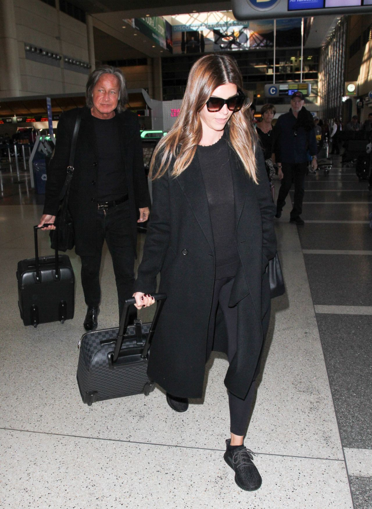 Shiva Safai Departs From Lax Airport In Los Angeles 11