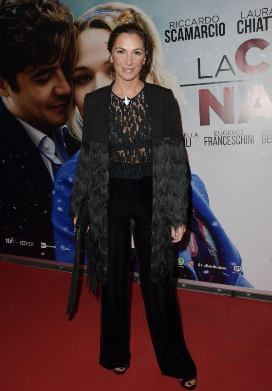 Simona Branchetti – 'La Cena Di Natale' Film Premiere in Rome