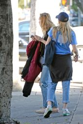 Suki and Immy Waterhouse in West Hollywood 11/9/ 2016