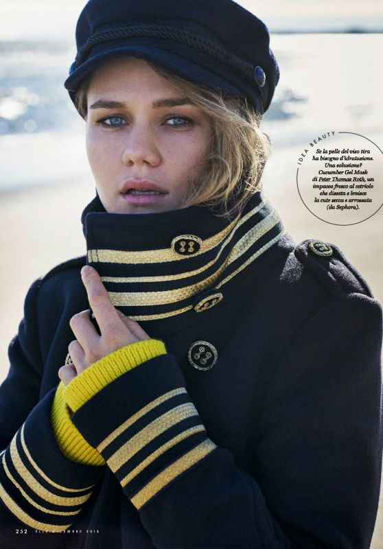 Suki Waterhouse – Elle Magazine Italy December 2016 Issue