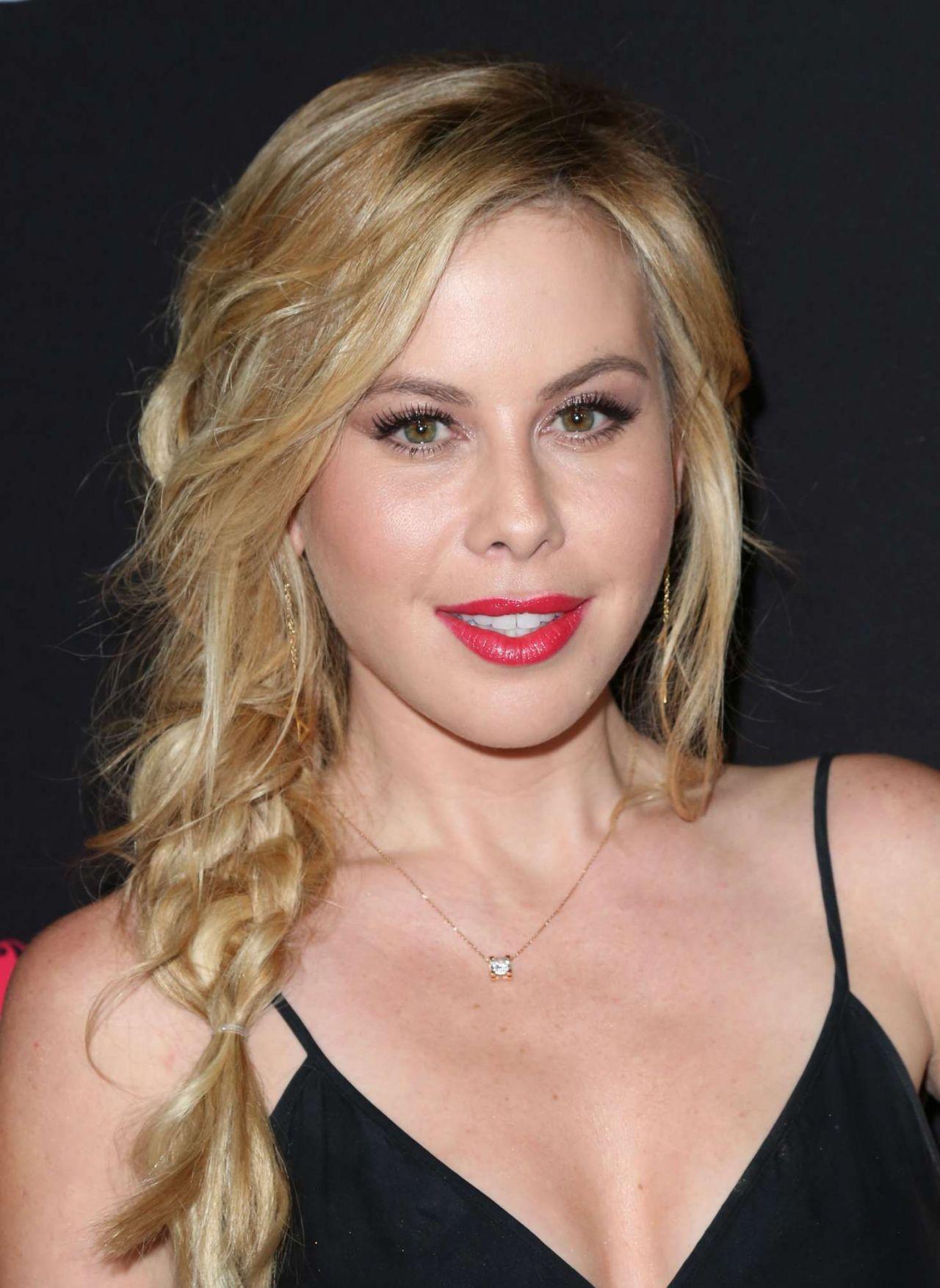 Tara Lipinski Bleed For This Premiere In Beverly Hills