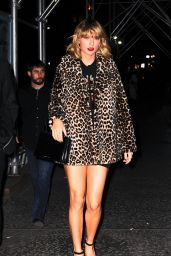 Taylor Swift Night Out Style - Out in NYC - 11/07/ 2016