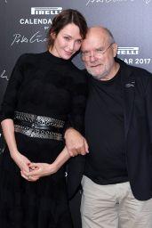 Uma Thurman - Pirelli Calendar 2017 Launch Photocall in Paris
