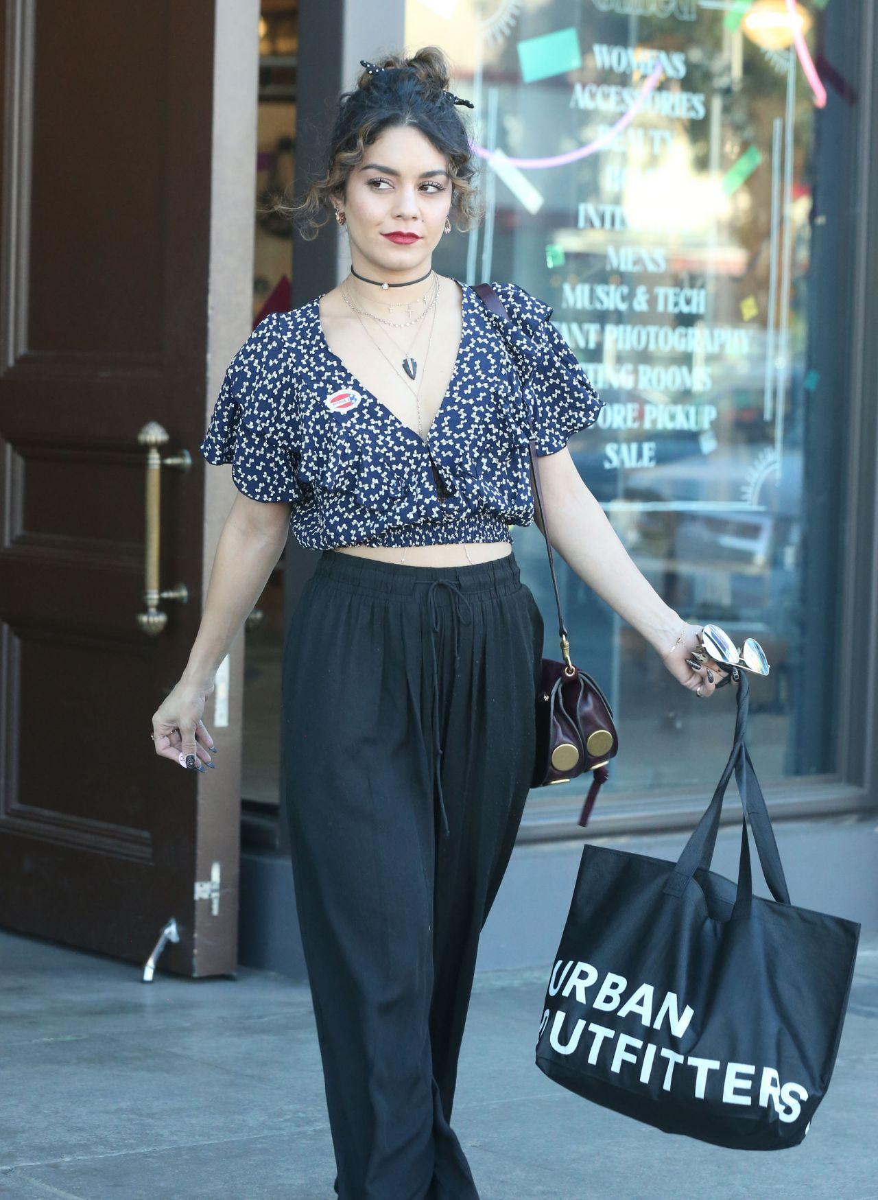 Vanessa Hudgens Casual Style - Shopping at Urban ...