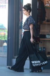 Vanessa Hudgens Casual Style - Shopping at Urban Outfitters in LA 11/8/ 2016