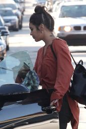 Vanessa Hudgens - Shopping in West Hollywood, November 2016