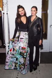 Victoria Justice - Alice + Olivia x Basquiat CFDA Capsule Collection Launch Party in NYC 11/2/ 2016