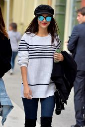Victoria Justice - Out in SoHo 11/2/ 2016