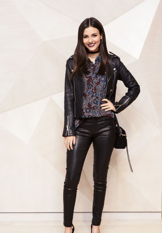 Victoria Justice - Rebecca Minkoff x Smashbox Event in Los Angeles 11/15/ 2016