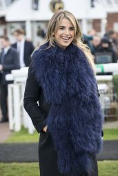 Vogue Williams - The Hennessy Gold Cup at Newbury Racecourse, England 11/26/ 2016
