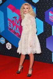 Zara Larsson – MTV Europe Music Awards in Rotterdam 11/6/2016