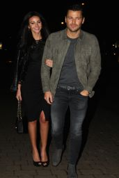 Michelle Keegan - Joins Husband Mark Wright for His Dad's 60th Birthday Party in Essex 12/20/ 2016