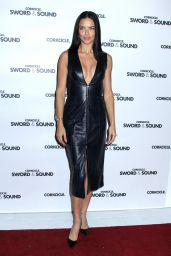 Adriana Lima at Corkcircle Hosting Sword & Sound in New York, December 2016