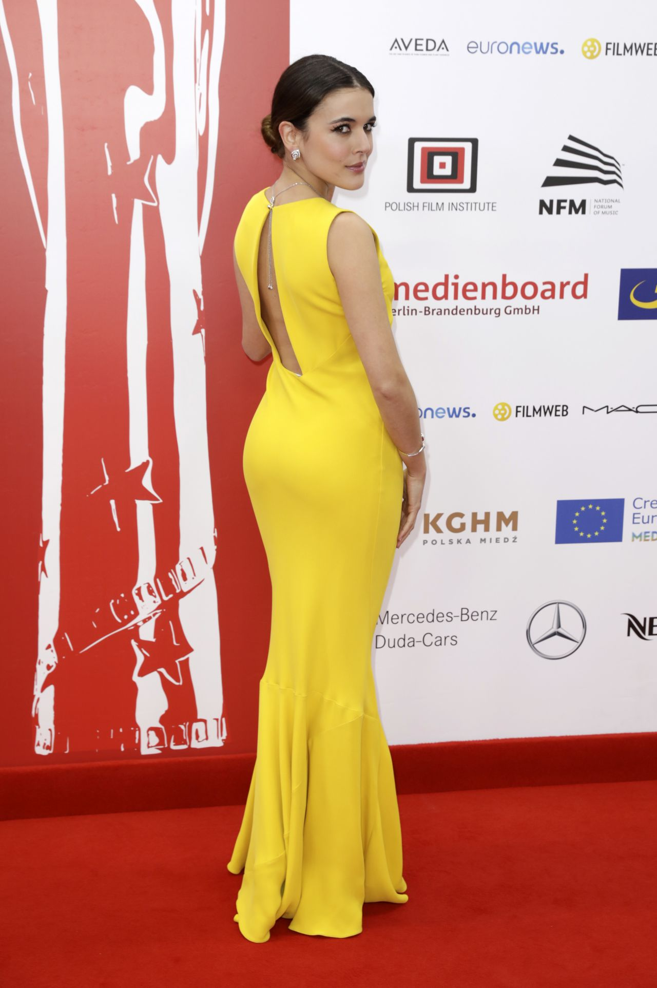 Adriana Ugarte 2016 European Film Awards In Wroclaw Poland