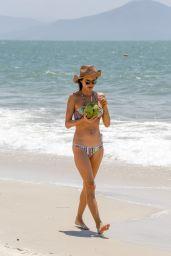 Alessandra Ambrosio in Bikini - Beach in Florianopolis, Brazil 12/20/ 2016